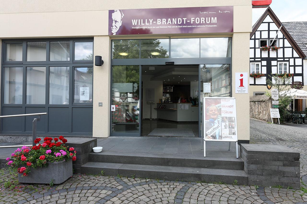 Bild Willy Brandt Forum Unkel