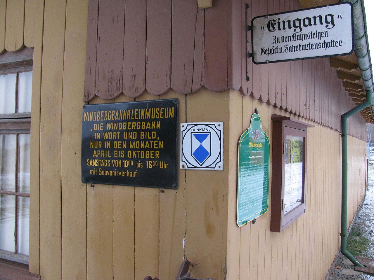 Bild Museum zur Geschichte der Windbergbahn