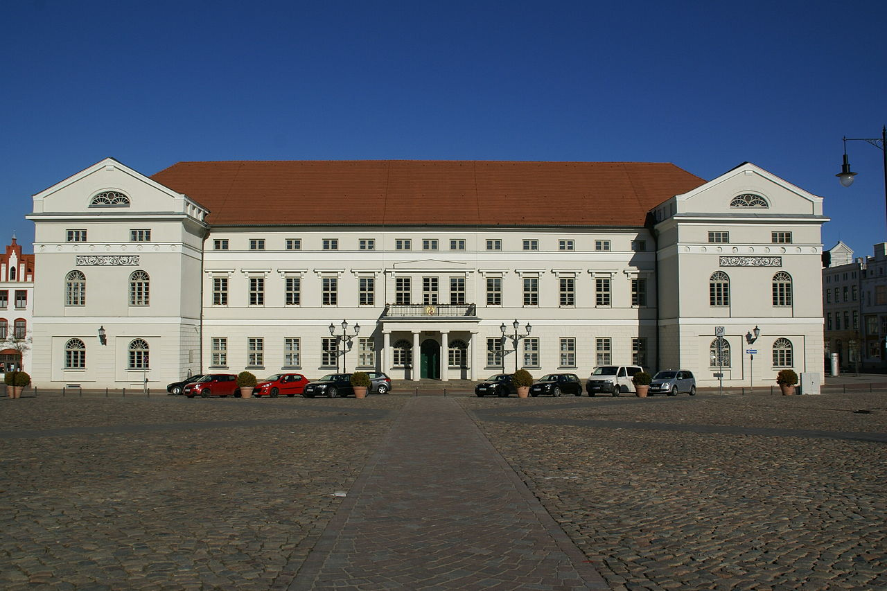 Bild Rathaus Wismar