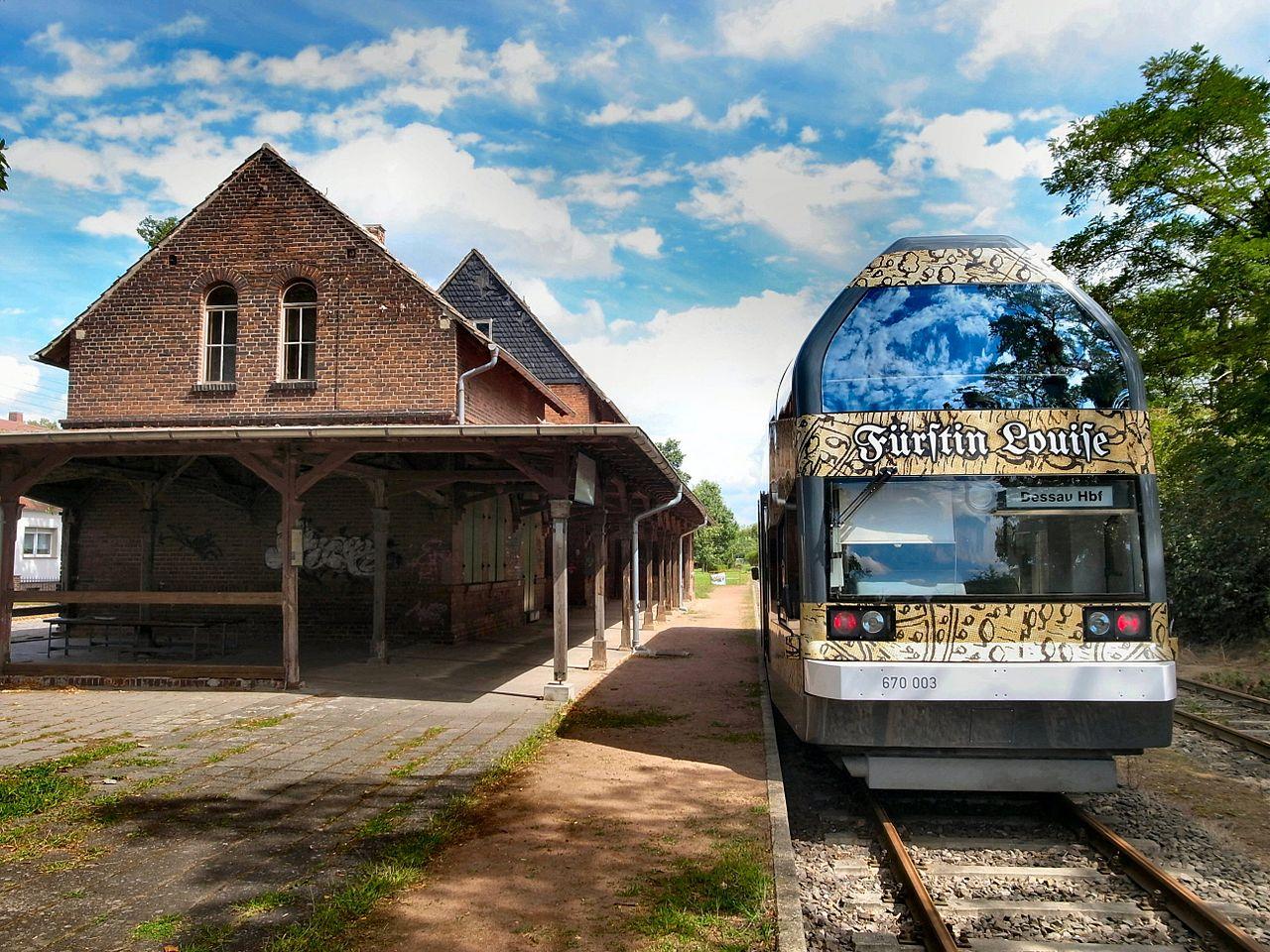 Bild Dessau Wörlitzer Eisenbahn