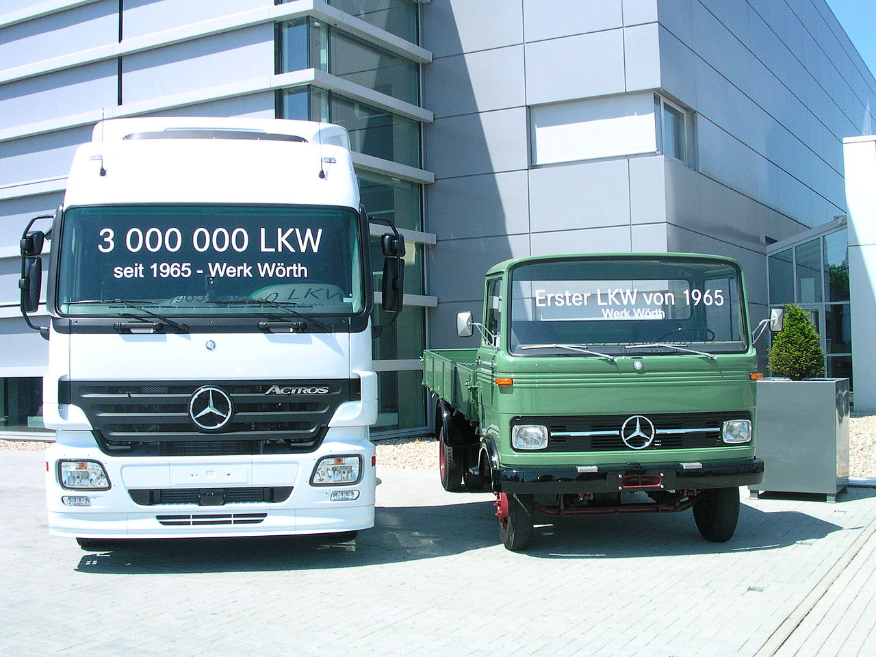 Bild Daimler Werk Wörth