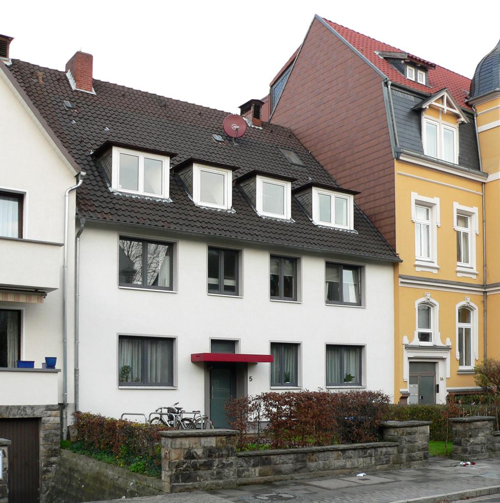 Bild Schwitters Wohnhaus Vielchenstraße Hannover