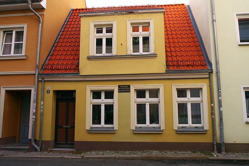 Bild Wohnhaus Hermann Löns Greifswald
