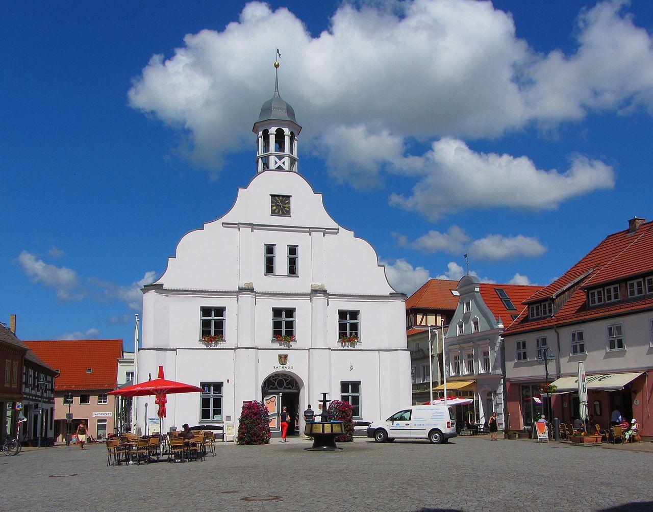 Bild Historisches Rathaus Wolgast