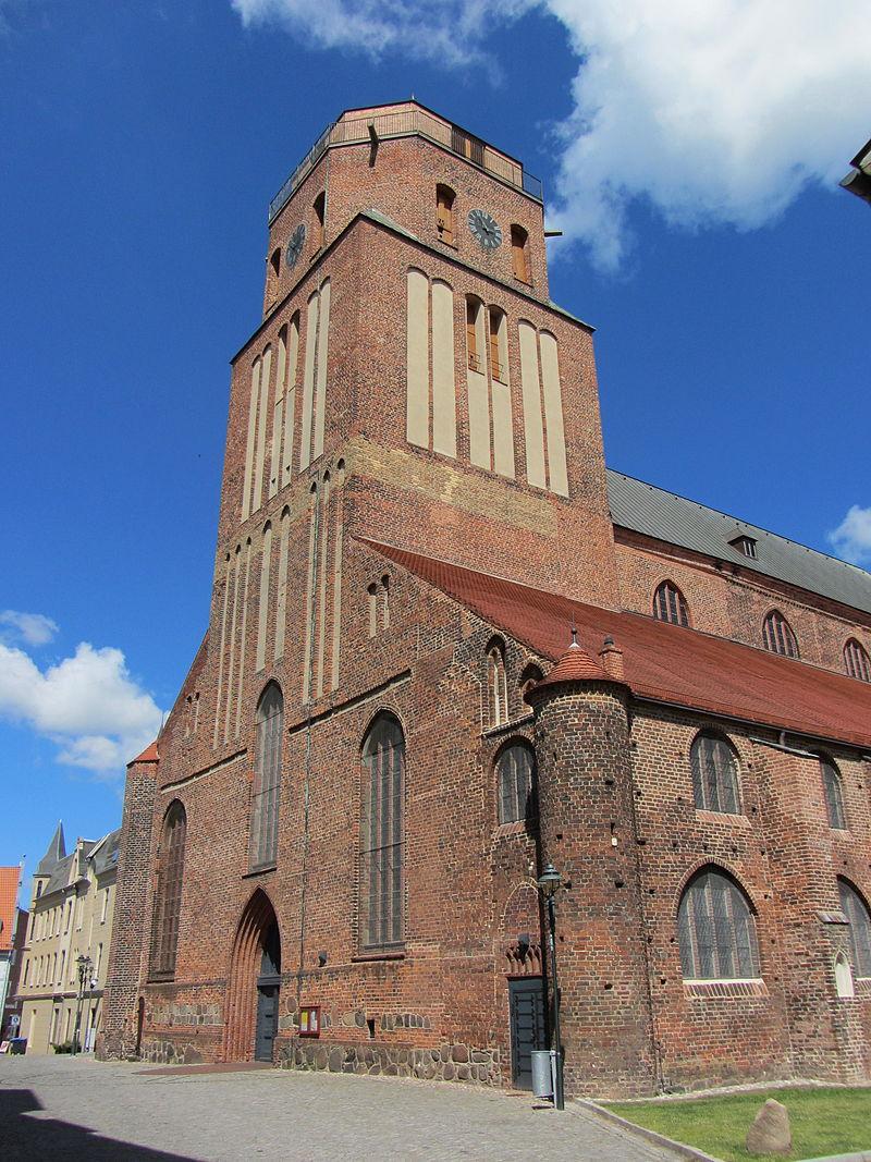 Bild St. Petri Kirche Wolgast