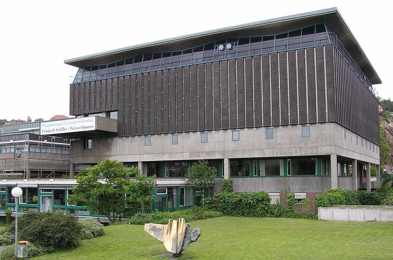 Bild Hölderlin Archiv der Landesbibliothek Stuttgart