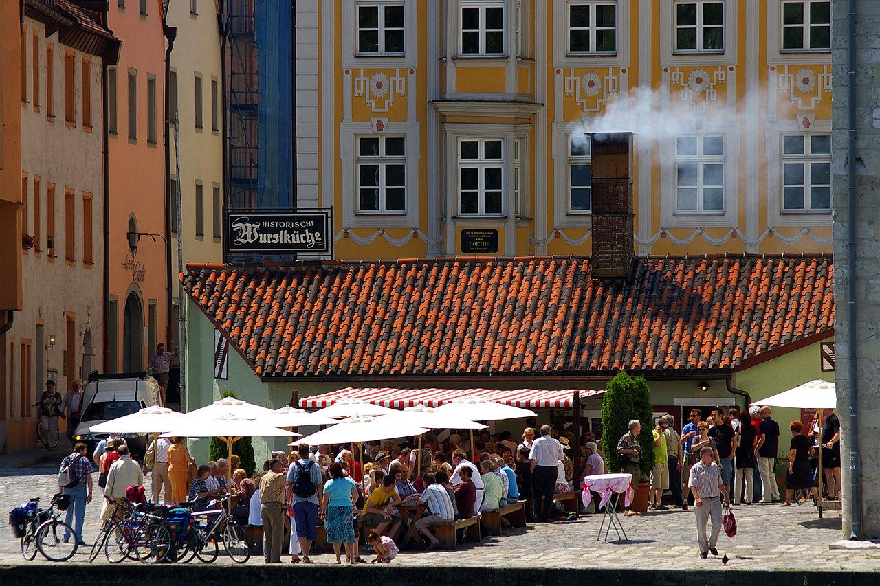Bild Historische Wurstkuchl Regensburg