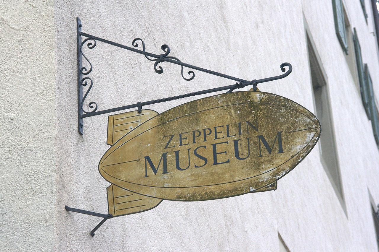 Bild Zeppelin Museum Meersburg