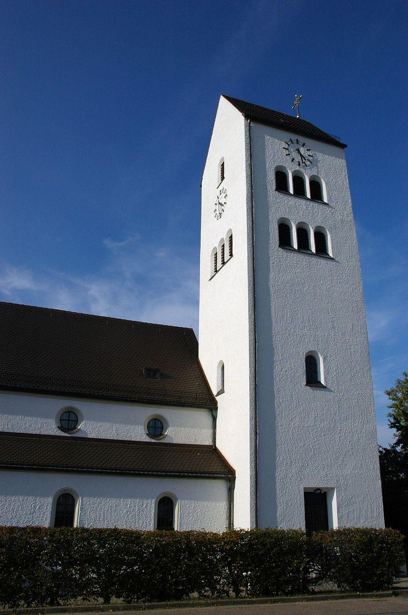Bild Kirche und Friedhof St. Josef Ziegetsdorf