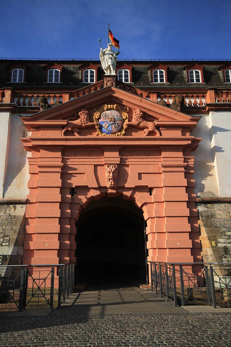 Bild Zitadelle Mainz