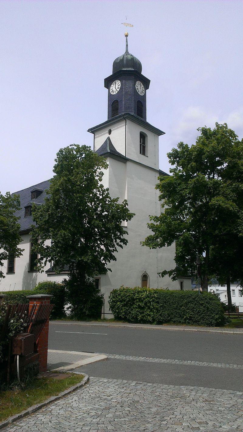 Bild Kirche Zöblitz