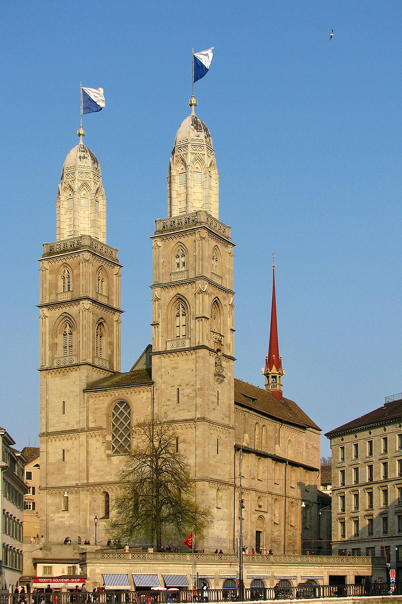 Bild Großmünster Zürich