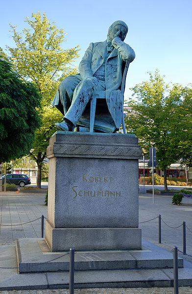 Bild Schumann Denkmal Zwickau