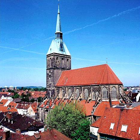 Bild Bürgerkirche St. Andreas Hildesheim