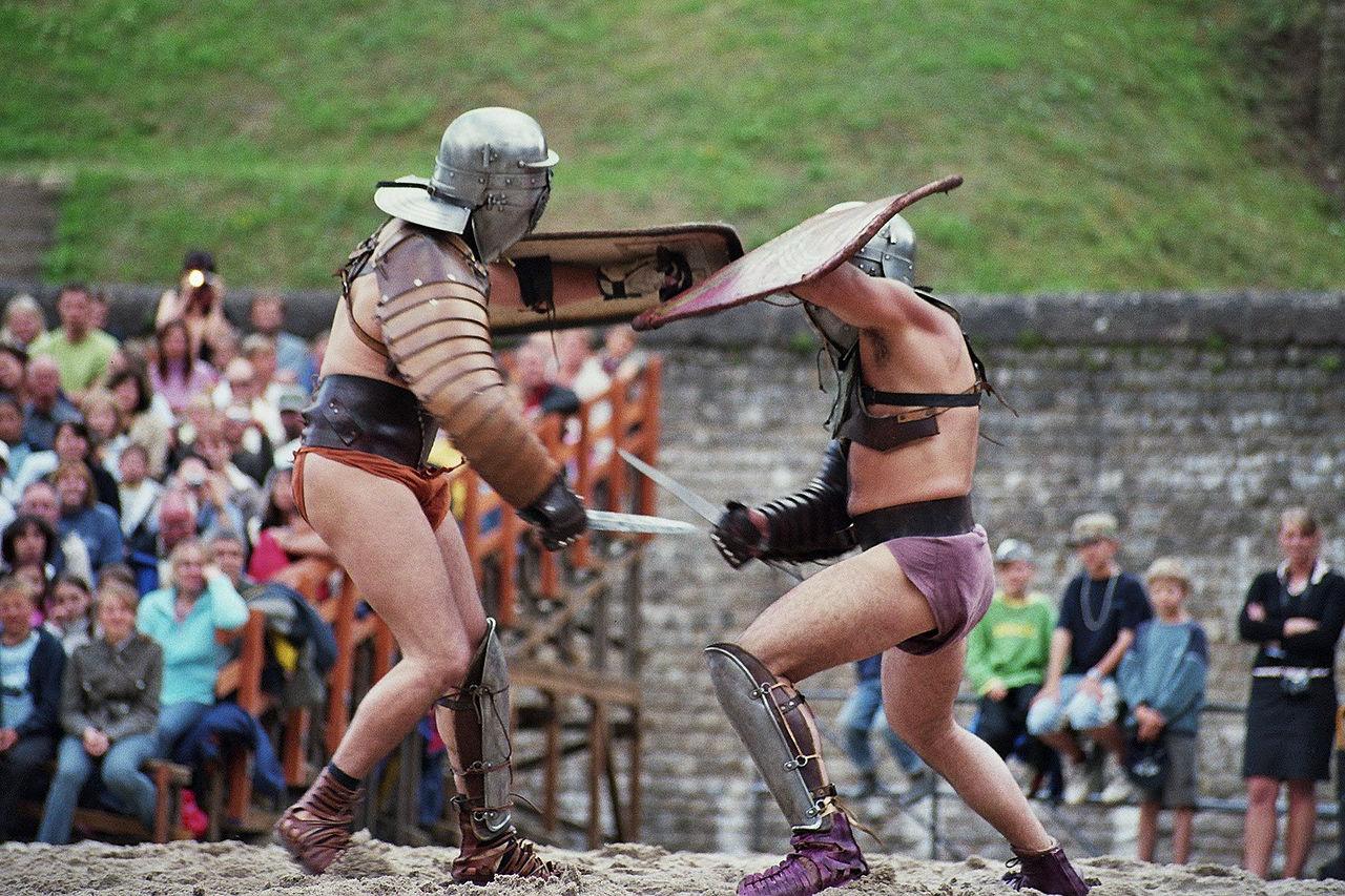 Bild Gladiatorenschule Trier