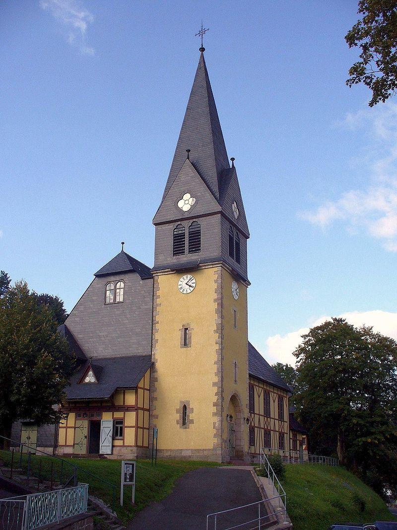 Bild Christuskirche Stützerbach