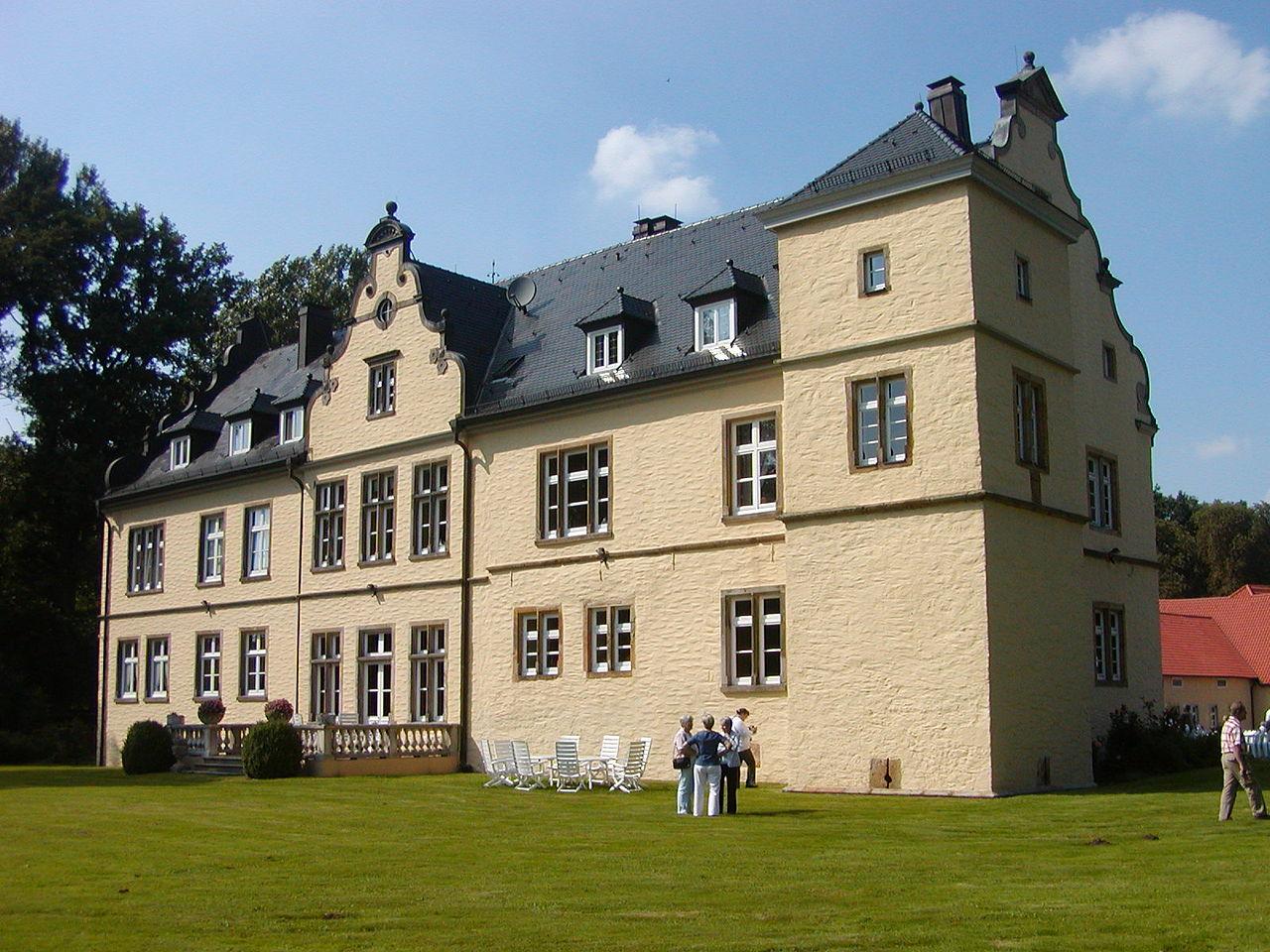 Bild Schloss Crollage Preußisch Oldendorf