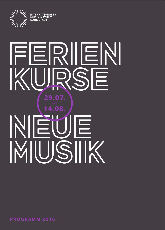 Bild Tage für Neue Musik Darmstadt