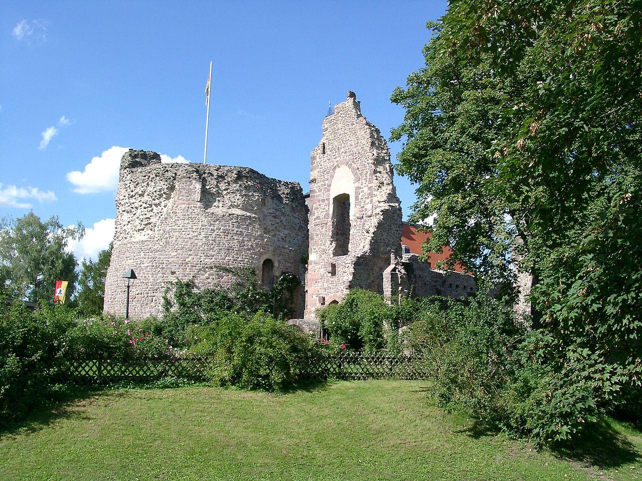 Bild Burg Hayn Dreieich