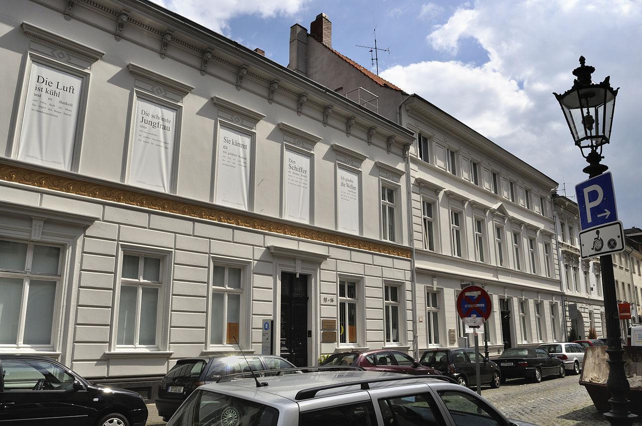 Bild Heinrich Heine Institut Düsseldorf