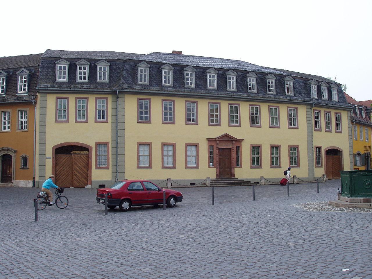 Bild Goethes Wohnhaus Weimar