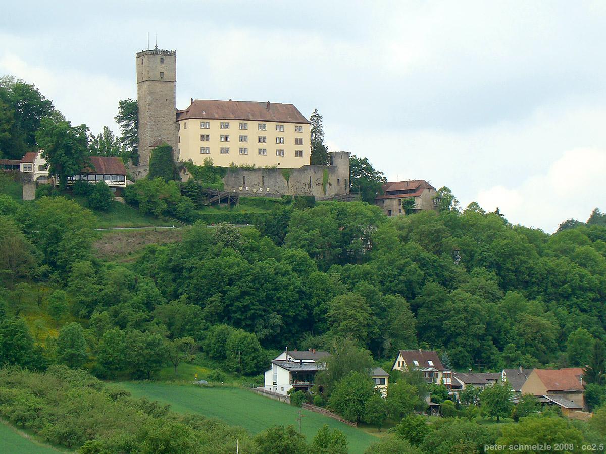 Bild Burg Guttenberg Haßmersheim