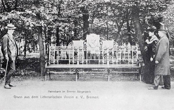 Bild Heinrich Heine Bank Bremen