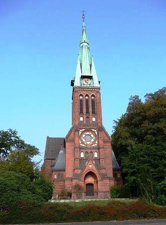 Bild Martin Luther Kirche Bremen Blumenthal