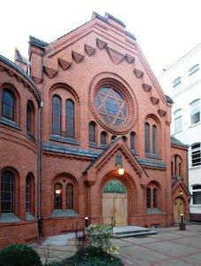 Bild Synagoge Pestalozzistraße Berlin