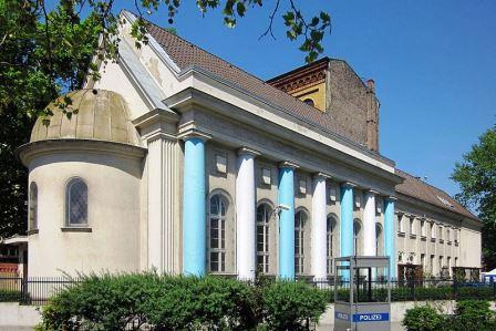 Bild Synagoge Fraenkelufer Berlin