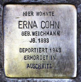 Bild Stolpersteine in Berlin