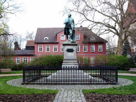 Bild Lessing Denkmal Braunschweig