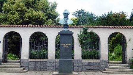 Bild Lessing Denkmal Kamenz