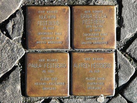 Bild Stolpersteine in Braunschweig