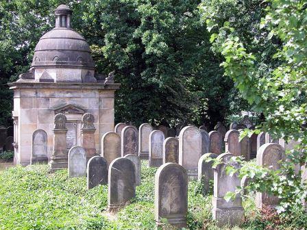 Bild Alter jüdischer Friedhof Braunschweig
