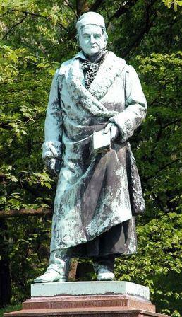 Bild Gauß Denkmal Braunschweig