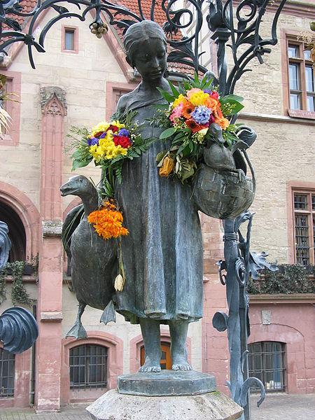 Bild Gänseliesel Brunnen Göttingen