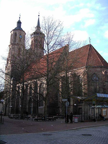 Bild Kirche St. Johannis Göttingen