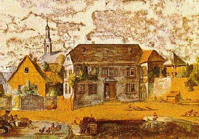 Bild Lichtenberg Geburtshaus Oberramstadt