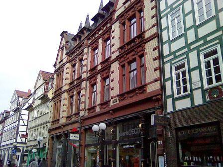 Bild Gottfried August Bürger Wohnhaus Göttingen