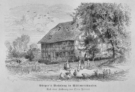 Bild Bürgers Wohnung Wöllmarshausen
