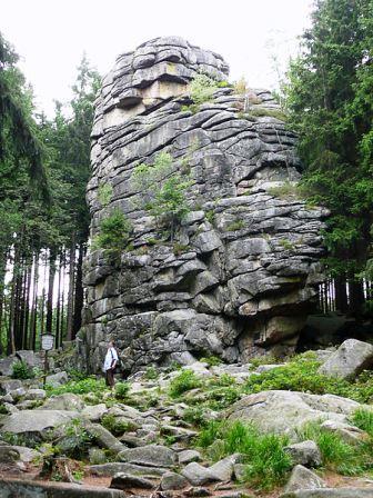 Bild Feuersteinklippen Schierke