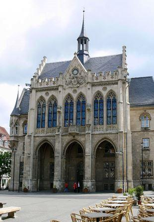 Bild Rathaus Erfurt
