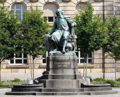 Bild Otto von Guericke Denkmal Magdeburg