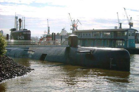 Bild U Boot Museum Hamburg