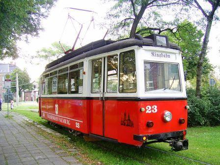 Bild Historische Naumburger Straßenbahn