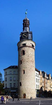 Bild Leipziger Turm Halle Saale