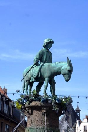 Bild Eselsbrunnen Halle Saale