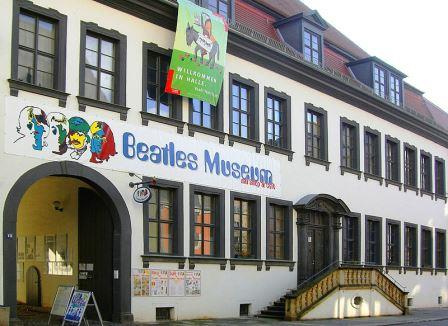 Bild Beatles Museum Halle Saale