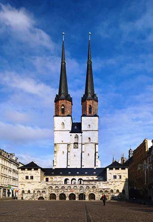 Bild Hallmarkt Halle Saale